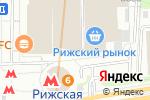 Схема проезда до компании Джамал в Москве