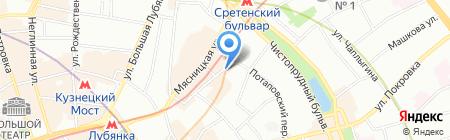 ОТК-групп на карте Москвы