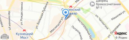 QB Systems на карте Москвы