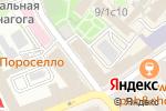 Схема проезда до компании DanzaFeliz в Москве