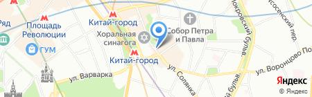 Правовед на карте Москвы