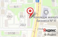 Схема проезда до компании Медицинские Издания в Москве