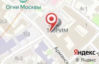 Схема проезда до компании Крестьянин в Москве