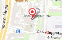 Схема проезда до компании Информика в Москве