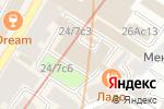 Схема проезда до компании Сириус Страхование в Москве