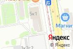 Схема проезда до компании Магазин одежды на Полярной в Москве