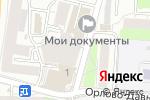 Схема проезда до компании Пластик окна в Москве