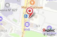 Схема проезда до компании Оффсет-С в Москве