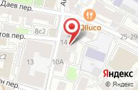 Схема проезда до компании Центр Трафаретной Печати  в Москве