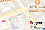 Схема проезда до компании Цветы в Москве