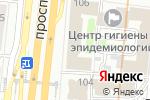 Схема проезда до компании ФИНСЕРВИС в Москве