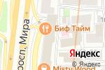 Схема проезда до компании Scavalini в Москве