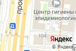 Схема проезда до компании BestyFlowers в Москве