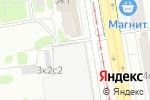 Схема проезда до компании Салон штор и карнизов в Москве