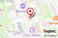 Схема проезда до компании Спецтехнология в Москве