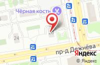 Схема проезда до компании Ра Прорыв в Москве
