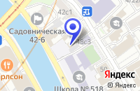 Схема проезда до компании ПТФ КАТРИС-КОМПЛЕКТ в Москве