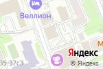 Схема проезда до компании Парадизтайм в Москве