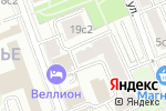 Схема проезда до компании LA CASA DEL HABANO в Москве