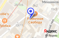 Схема проезда до компании АРХИТЕКТУРНАЯ ФИРМА АРХИЗ в Москве