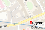 Схема проезда до компании Жан-Жак в Москве