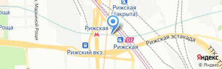 Ярмарка цветов на карте Москвы