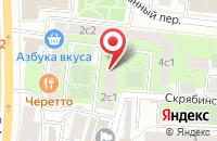Схема проезда до компании Ортига Телеком в Москве