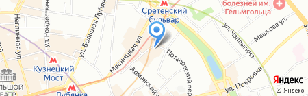 Почтовая связь. Техника и технологии на карте Москвы