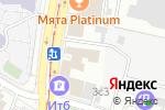 Схема проезда до компании ОБЛИК в Москве