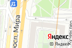 Схема проезда до компании Wedding Up! в Москве