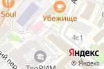 Схема проезда до компании ГХП Директ Рус в Москве