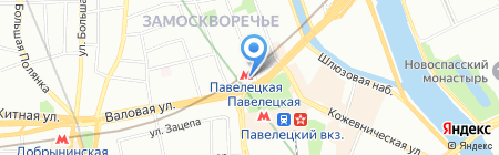 Джон Джоли на карте Москвы