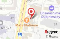 Схема проезда до компании Стелла - Строй в Москве