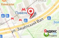 Схема проезда до компании Микрон-Комплект в Москве