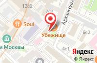 Схема проезда до компании Рбп Групп в Москве
