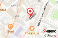Схема проезда до компании Сообщество Производителей Металлодекора в Москве