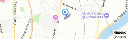 АльянсСетьСтрой на карте Москвы