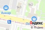 Схема проезда до компании Айс Куб в Москве