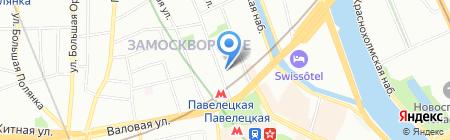 Пять звезд на карте Москвы
