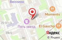Схема проезда до компании Продюсерский Центр «Парадиз» в Москве