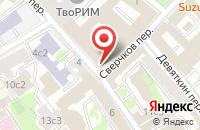 Схема проезда до компании Стиль Декор в Москве