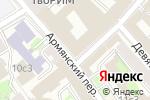 Схема проезда до компании БАЗИС БУХГАЛТЕРИЯ в Москве