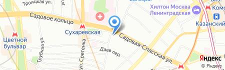 Лига Профессионалов на карте Москвы