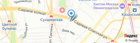 Салям Сервис на карте Москвы