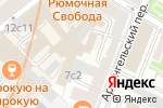 Схема проезда до компании Эдельвейс в Москве