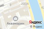 Схема проезда до компании Аквамарин III в Москве