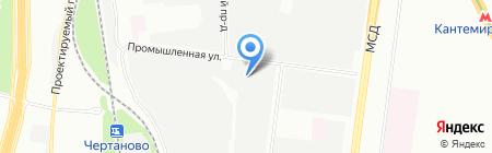 Саини на карте Москвы