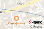 Схема проезда до компании Old City в Москве