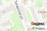 Схема проезда до компании Chianti в Москве