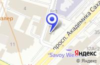 Схема проезда до компании ТФ ИНТЕЛСЕКЬЮРИТИСИСТЕМС в Москве